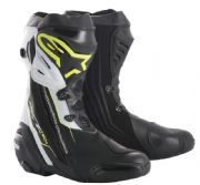 Alpinestars Supertech R Boots Black/White/Fluo